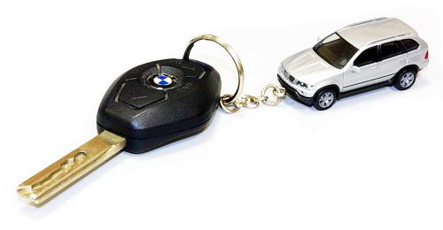 Потеряли ключи от машины